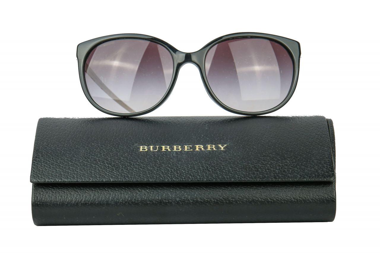 Burberry Sonnenbrille schwarz