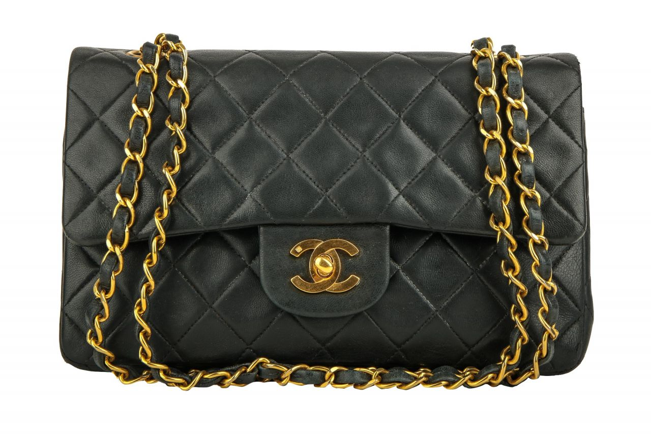 Chanel Timeless Classic Flap Small Schwarz