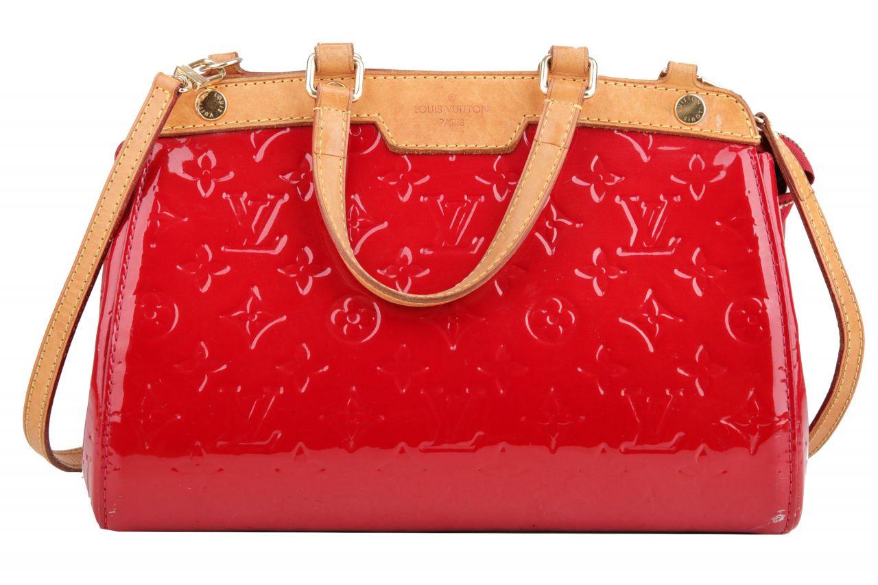Louis Vuitton Brea PM Monogram Vernis Rot