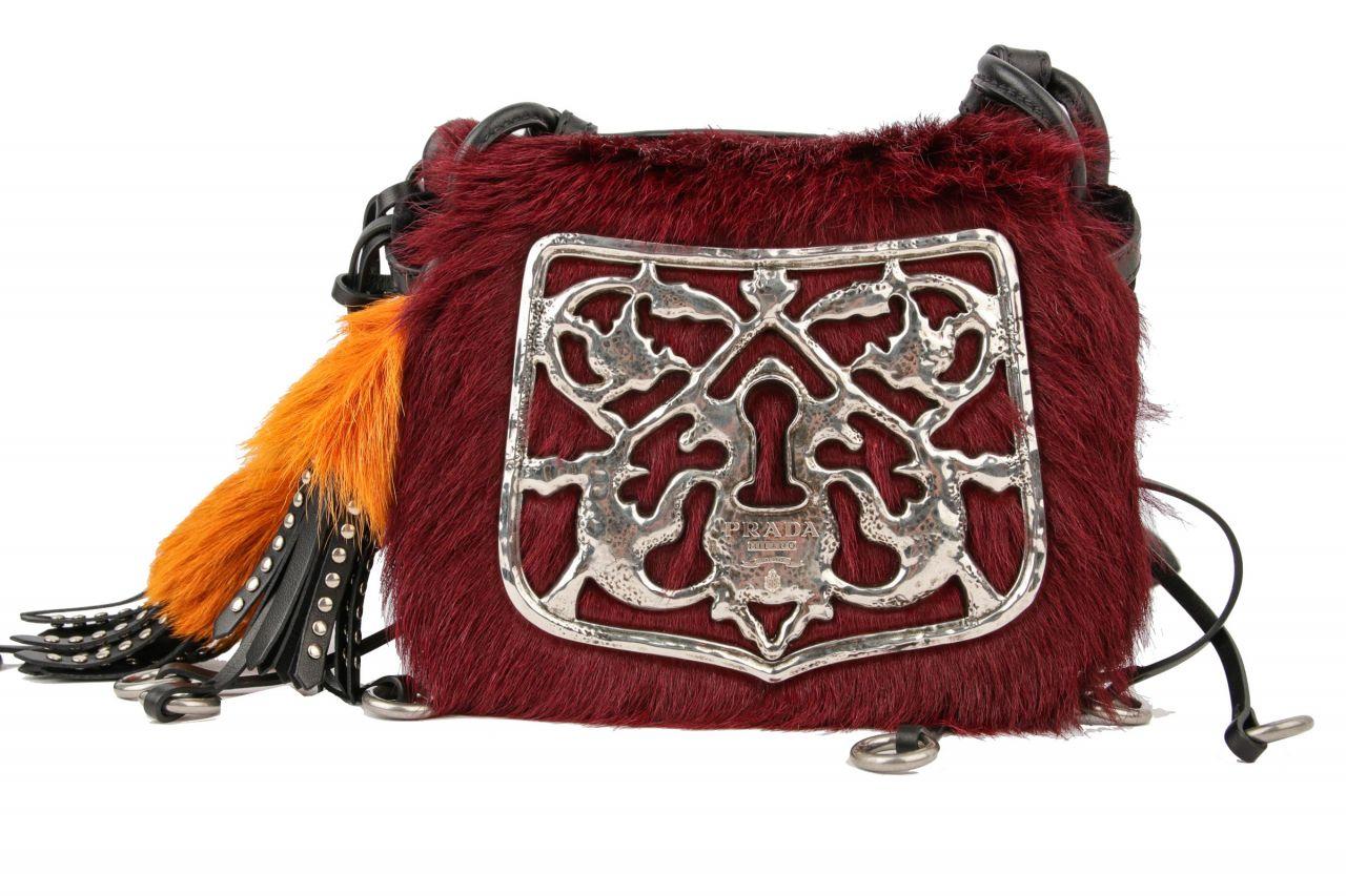 Prada City Calf Crossbody Bag Velvet Schwarz