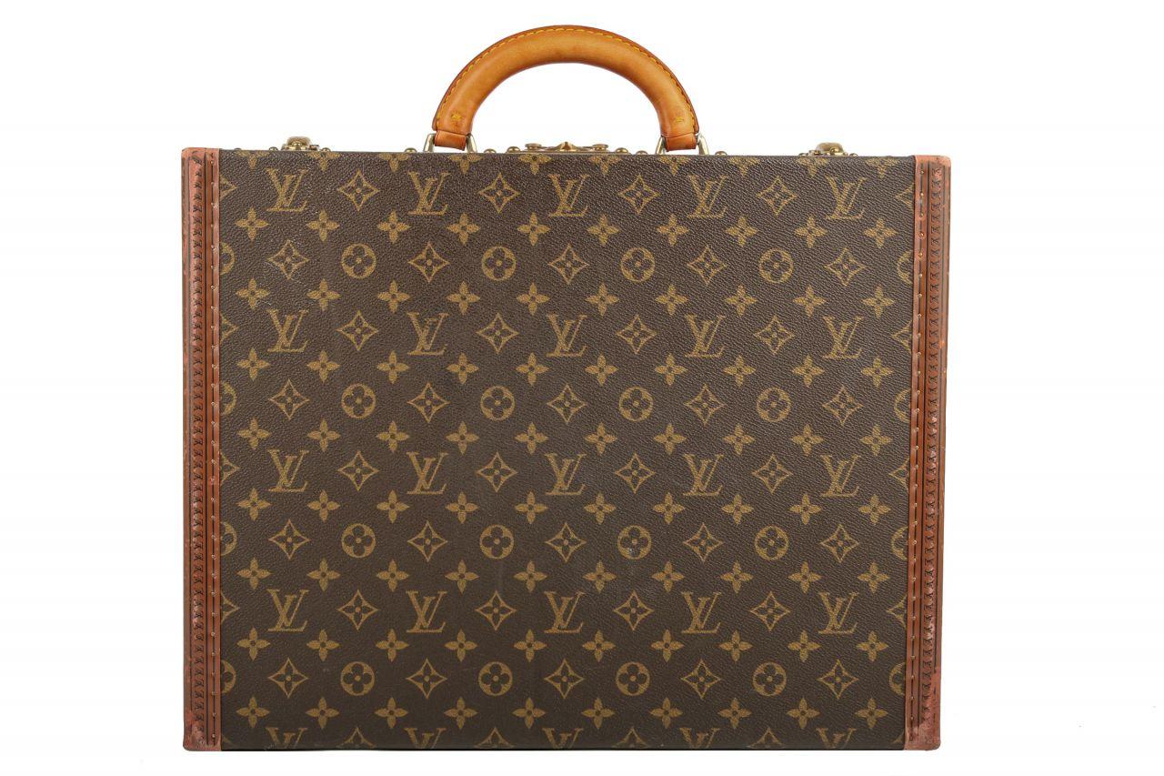 Louis Vuitton Aktenkoffer Président Monogram Canvas