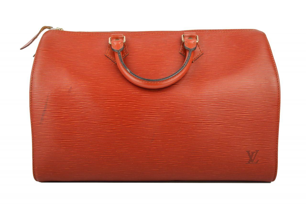 Louis Vuitton Speedy 35 Epi Cognac