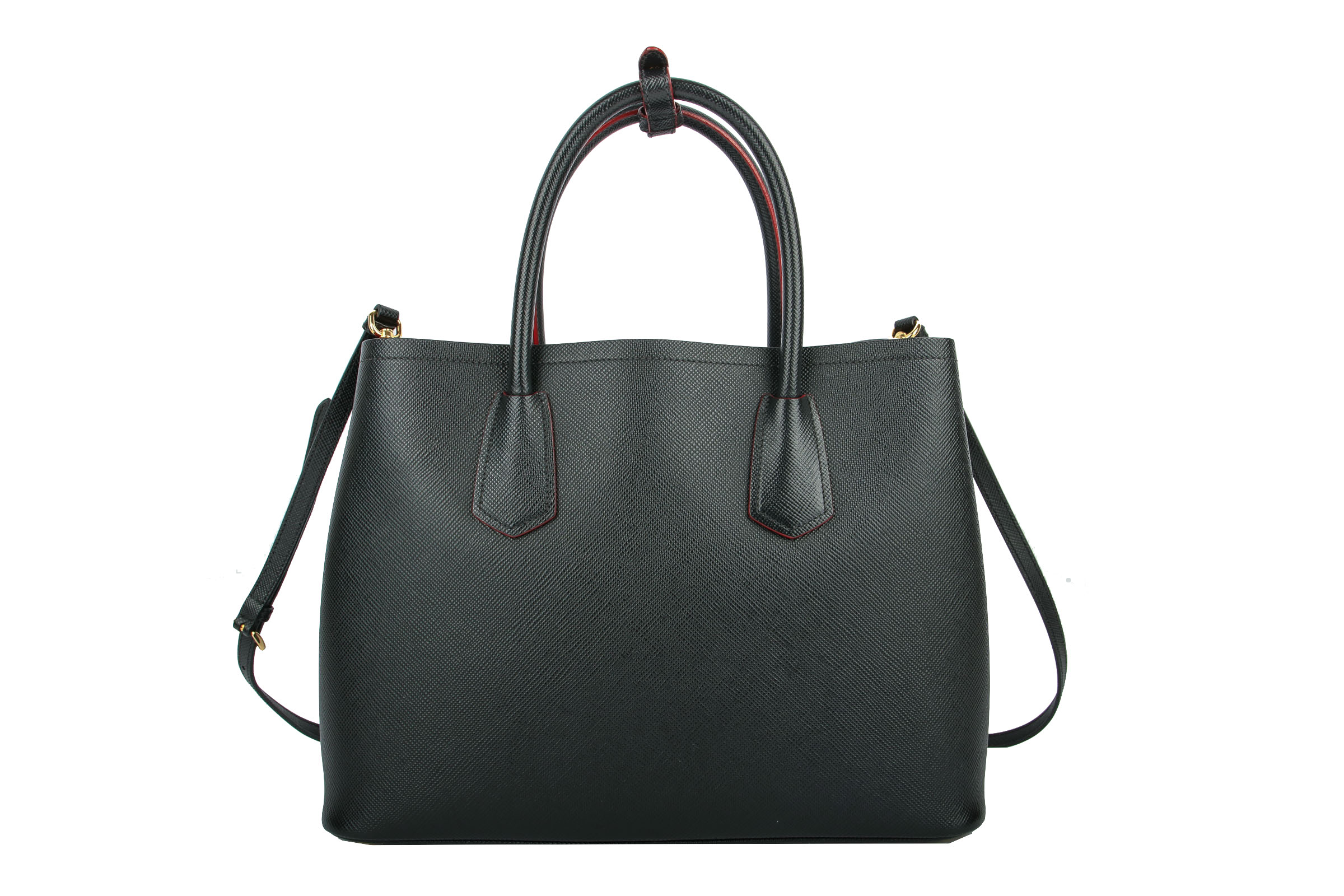 af468818855a Prada Double Bag Saffiano Black | Luxussachen.com