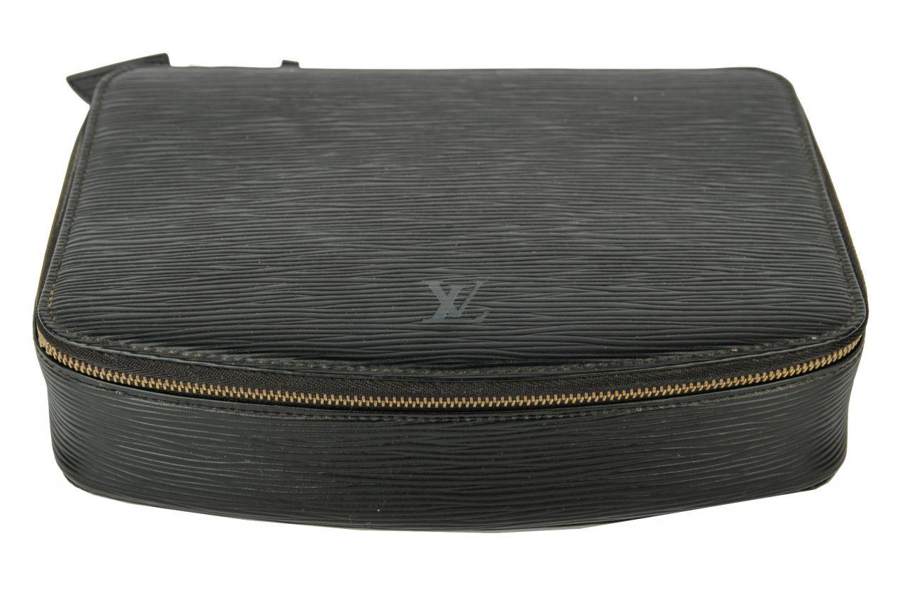 Louis Vuitton Schmuckorganizer Epi Leder Schwarz