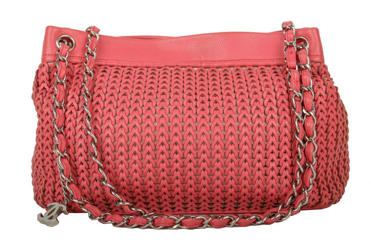 Chanel Umhängetasche Pink