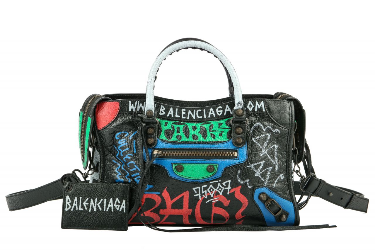 Balenciaga Graffiti Classic City Medium