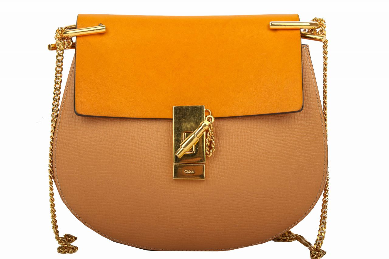 Chloé Drew Bag Small Mustard