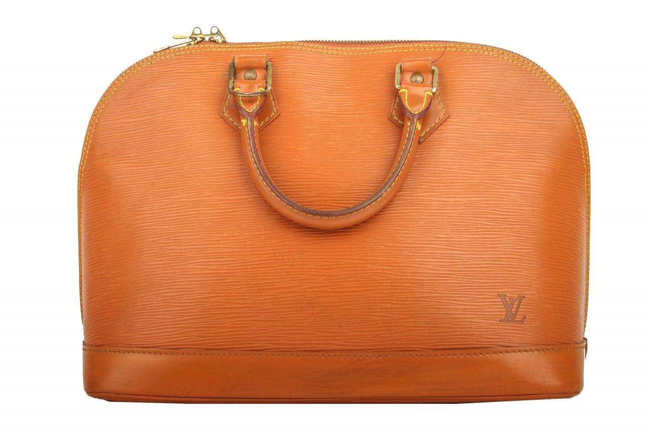 Louis Vuitton Alma PM Epi Leder Camel