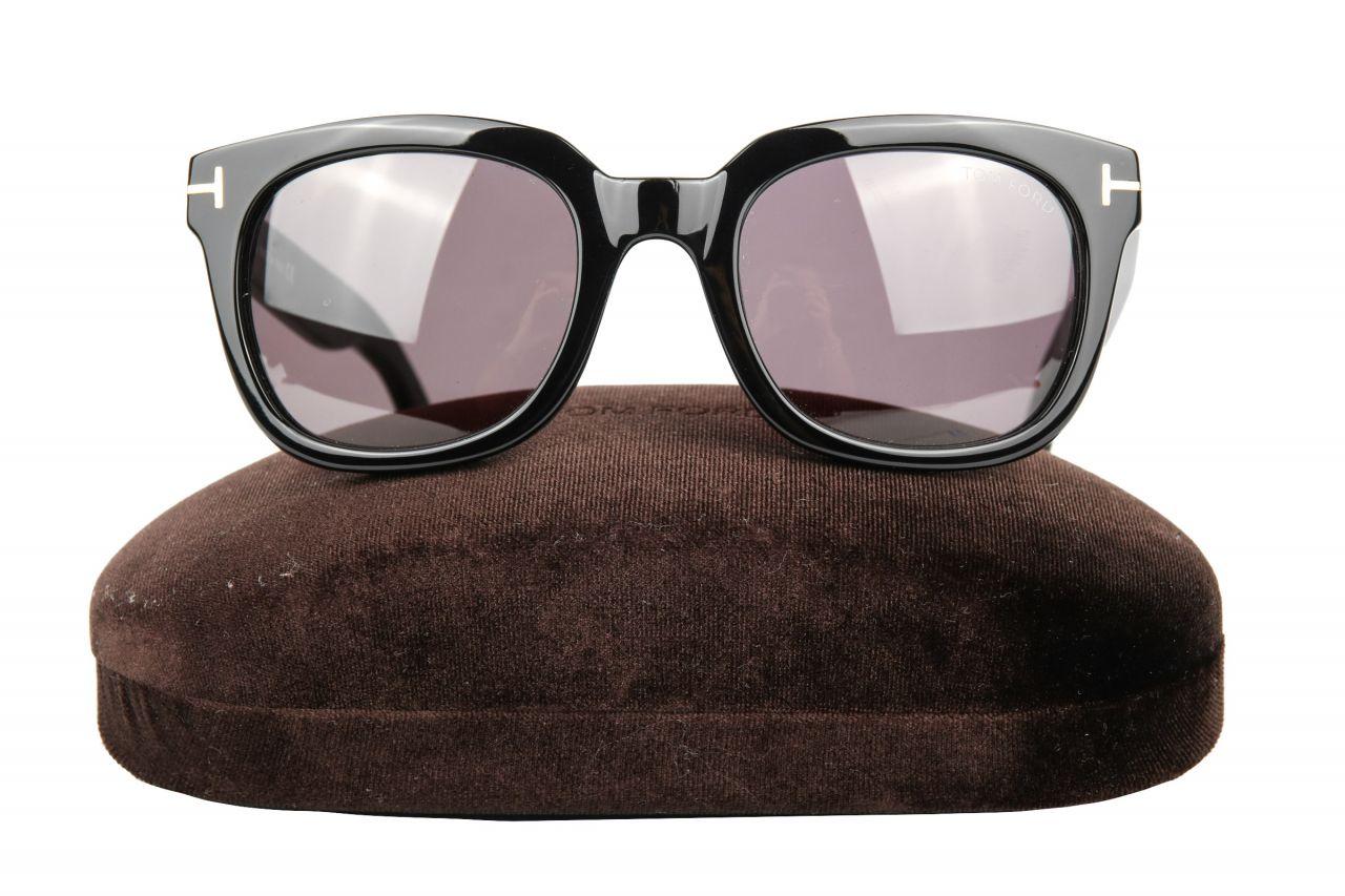 Tom Ford Campbell Sunglasses Black