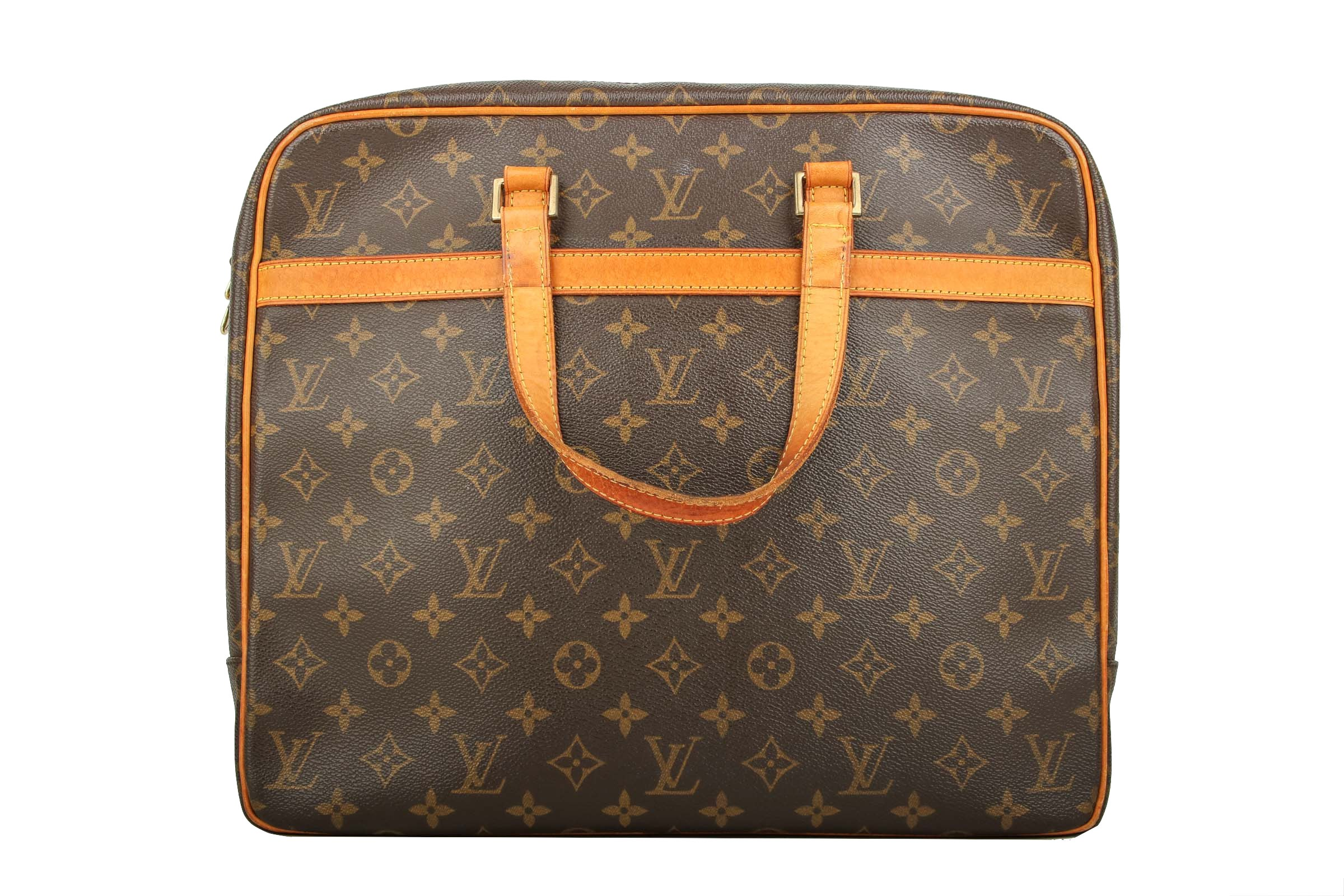 504aa806d4a40 Louis Vuitton Porte Documents Pegase Monogram Canvas