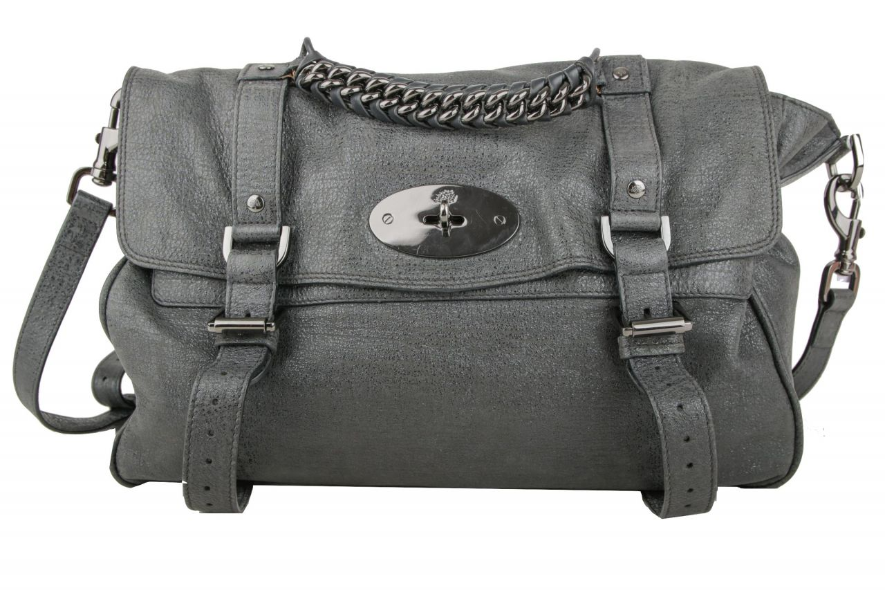 Mulberry Alexa Satchel Metallic