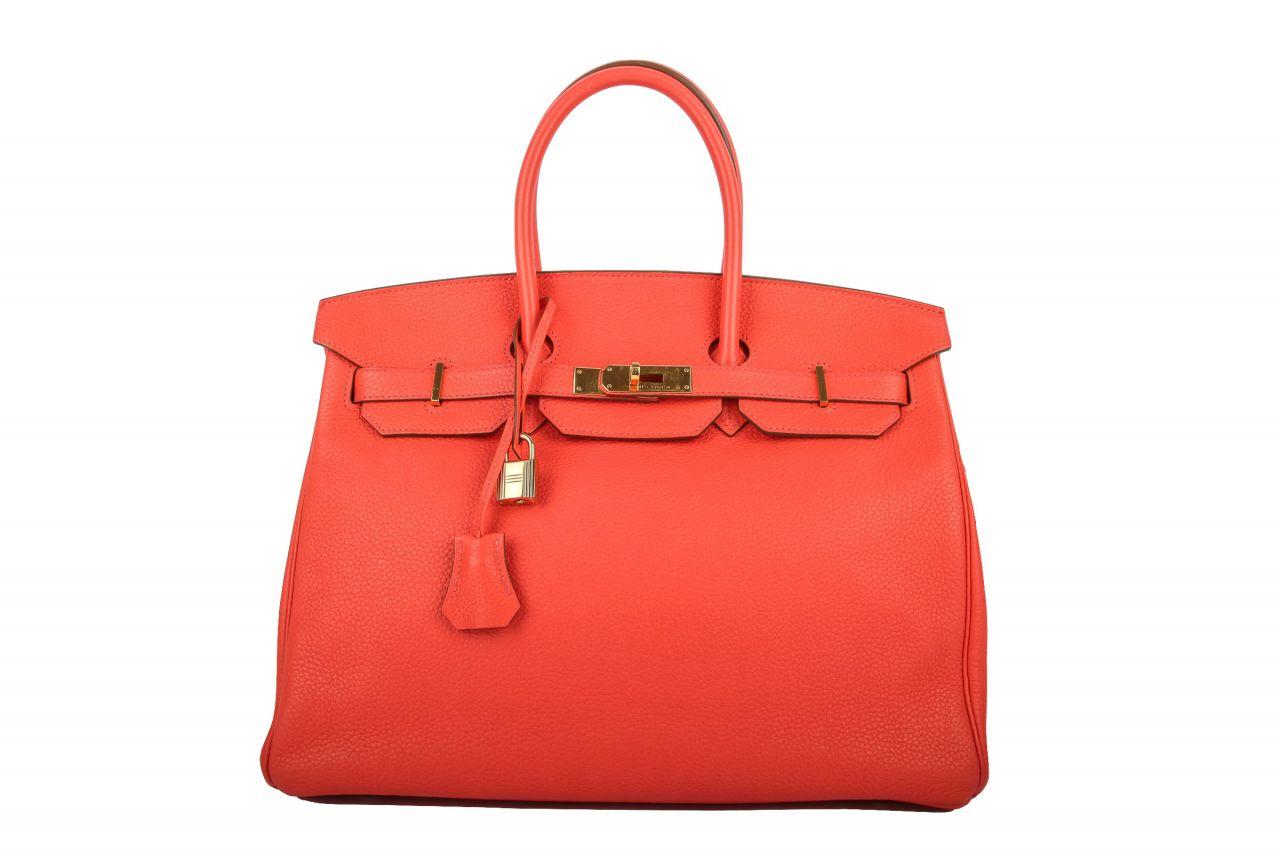 Hermès Birkin Bag 35 Togo Rose Jaipur