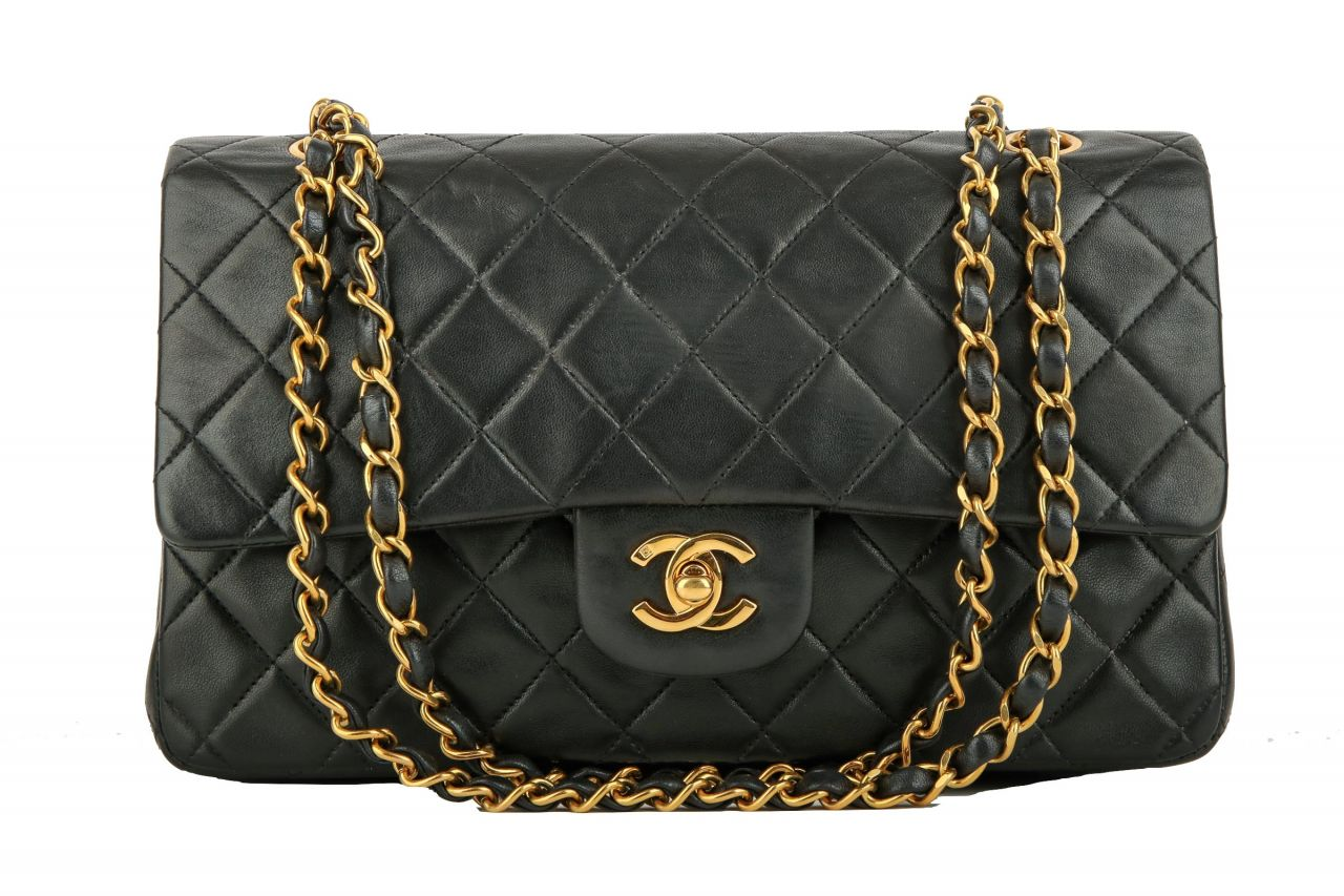 Chanel Timeless Classic Flap Medium Schwarz