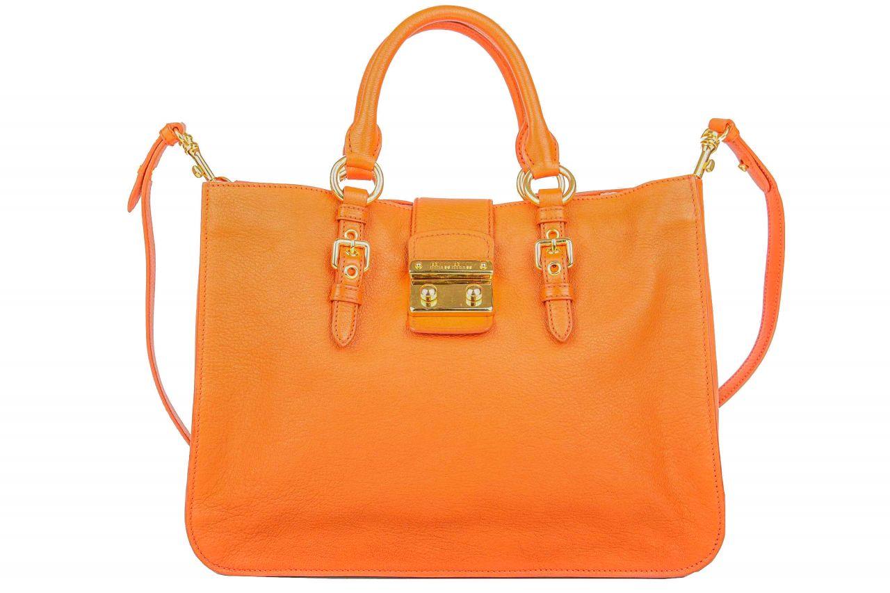 Miu Miu Shopper Orange