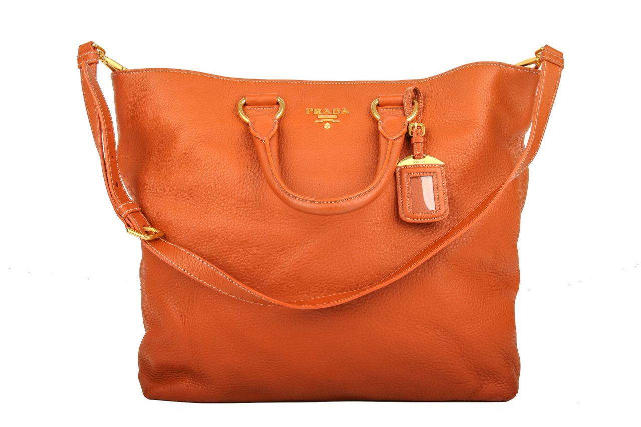 Prada Shopper Orange