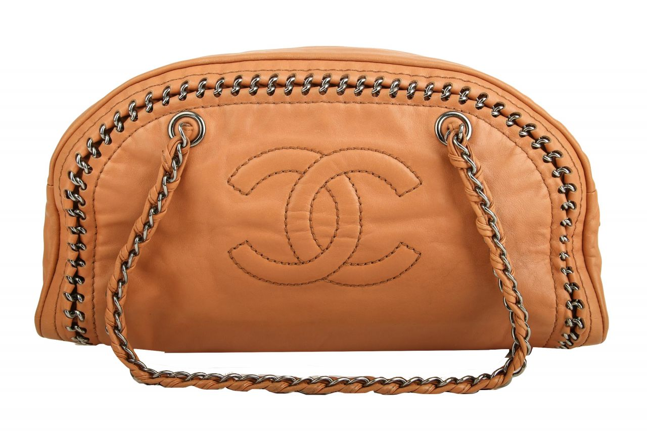 Chanel Shopper Cognac
