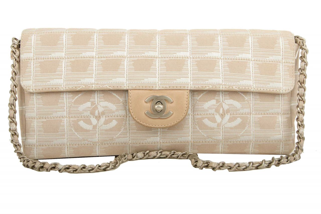 Chanel New Travel Line Single Chain Beige