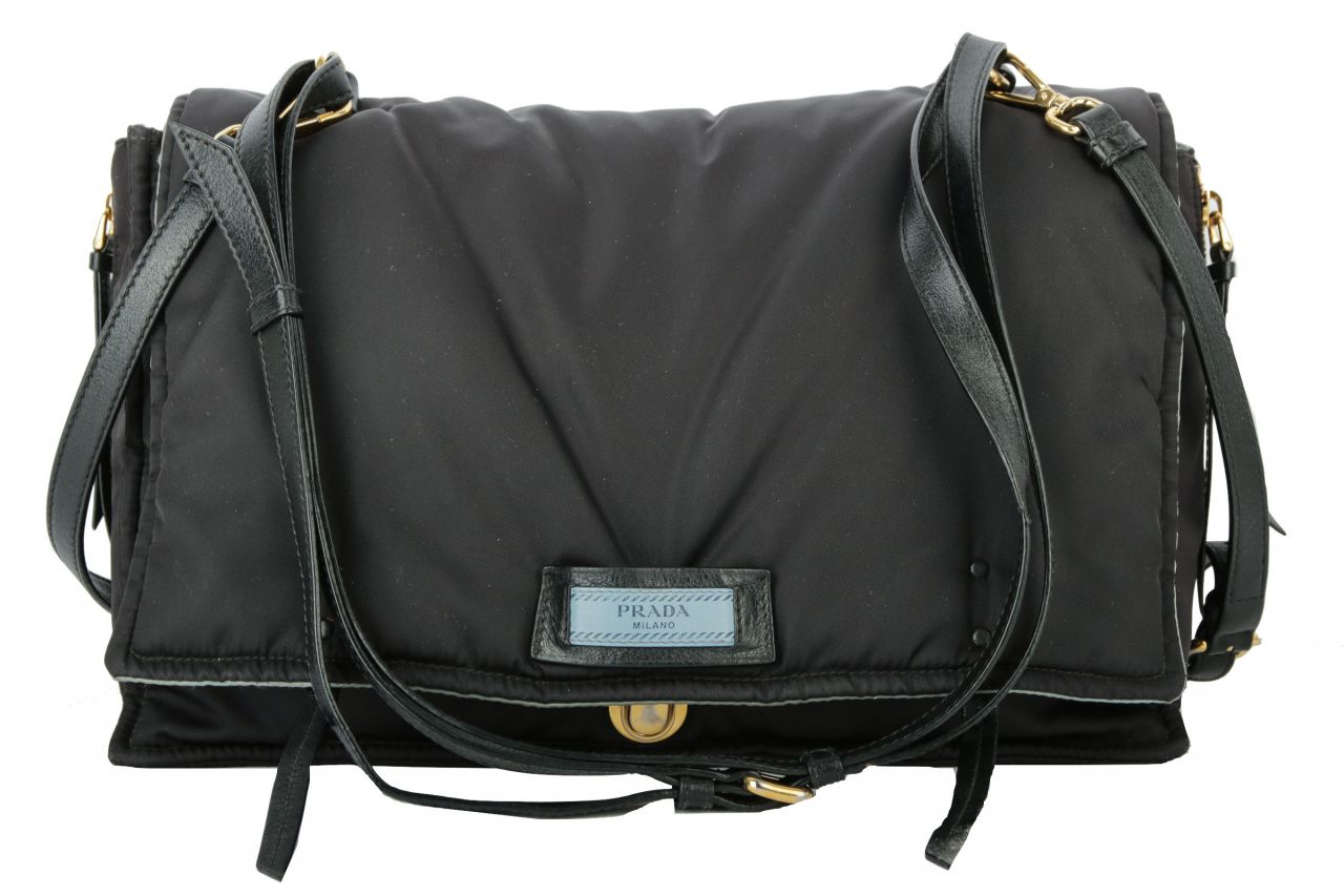 Prada Etiquette Bag Schwarz