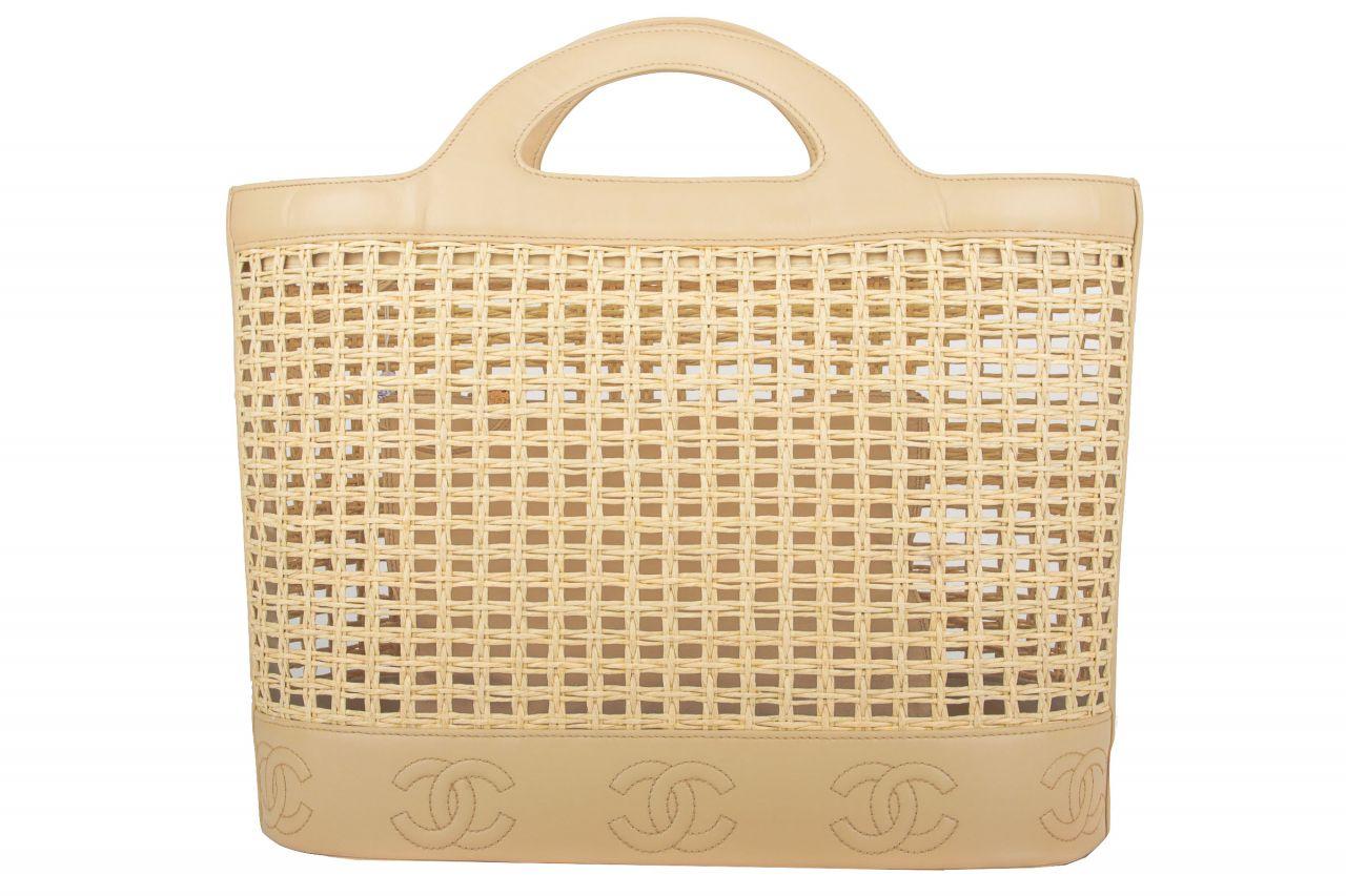 Chanel Shopper Beige