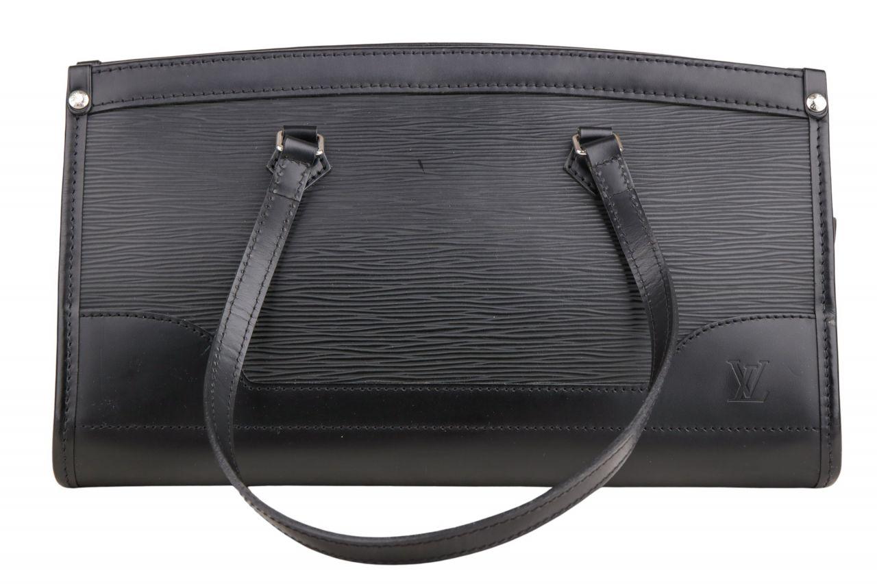 Louis Vuitton Handtasche Epi Leder Schwarz