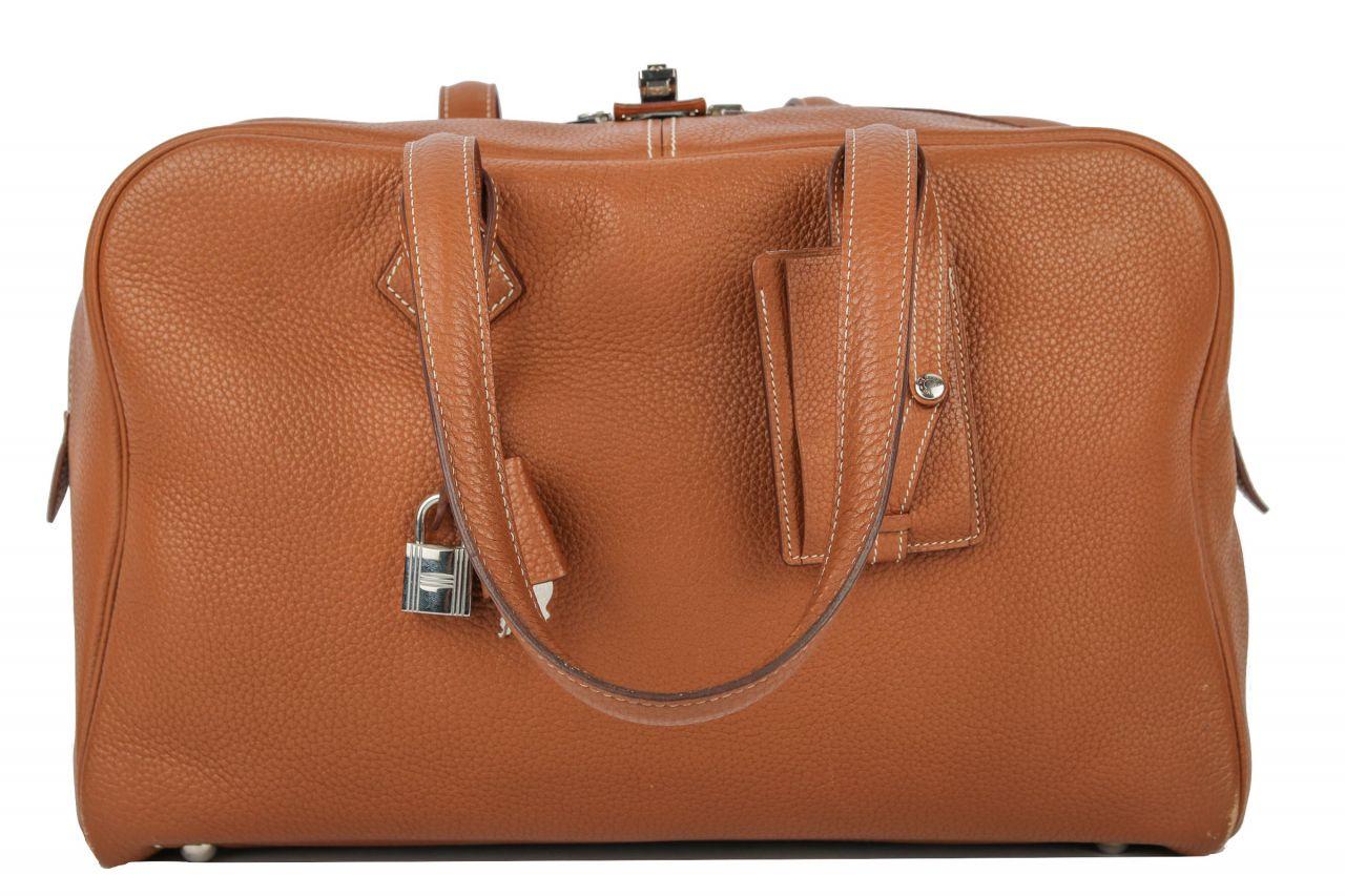 Hermès Victoria II Fourre-Tout 35 Cigare Bag