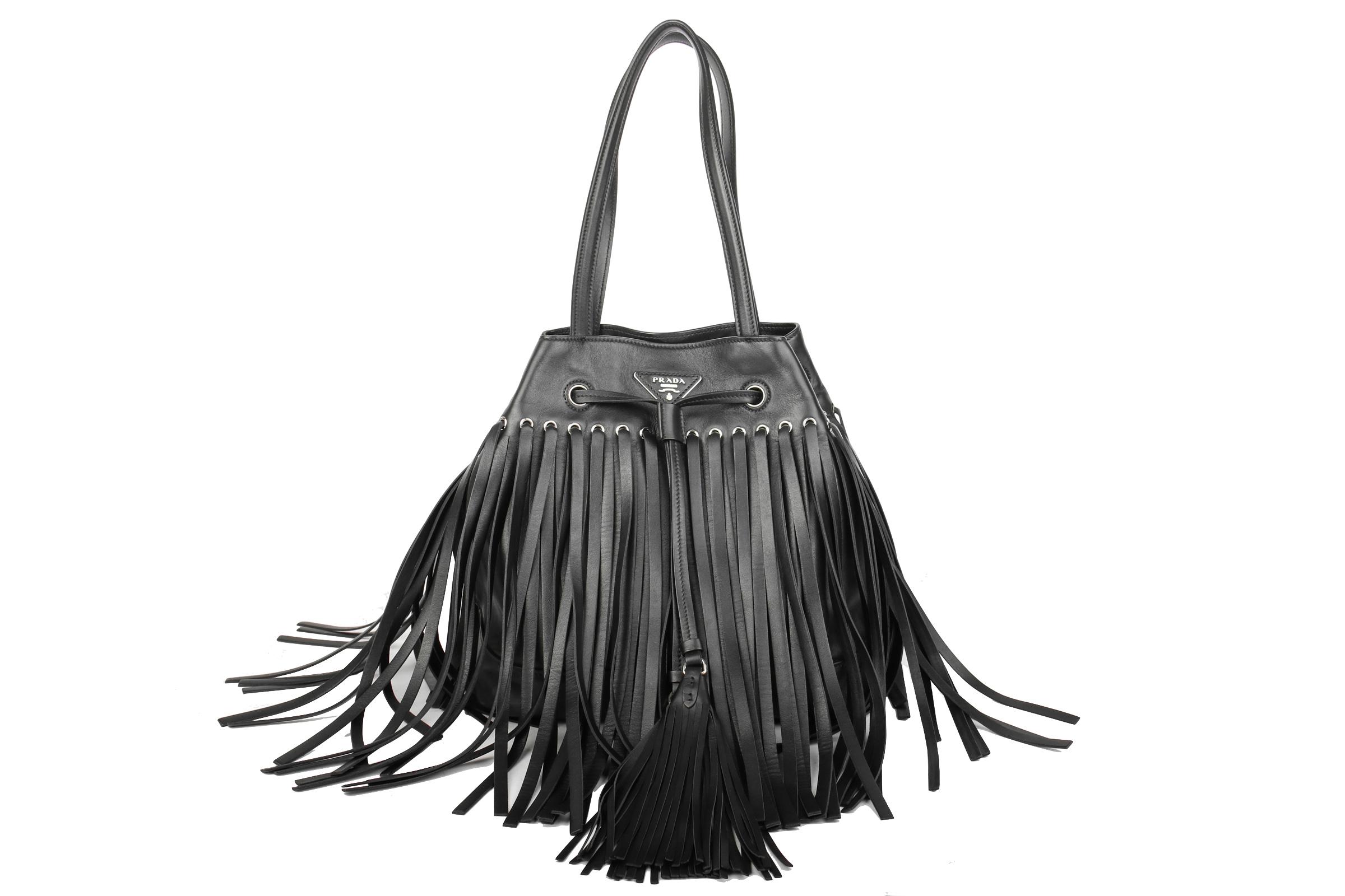 0e2fa4ca0ecd ... promo code for prada bag with fringes black luxussachen 09508 37ddd ...