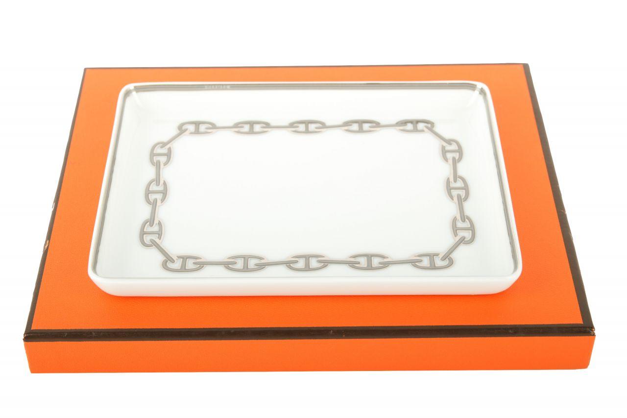 "Hermès Servierplatte ""Chaine D'Ancre"""
