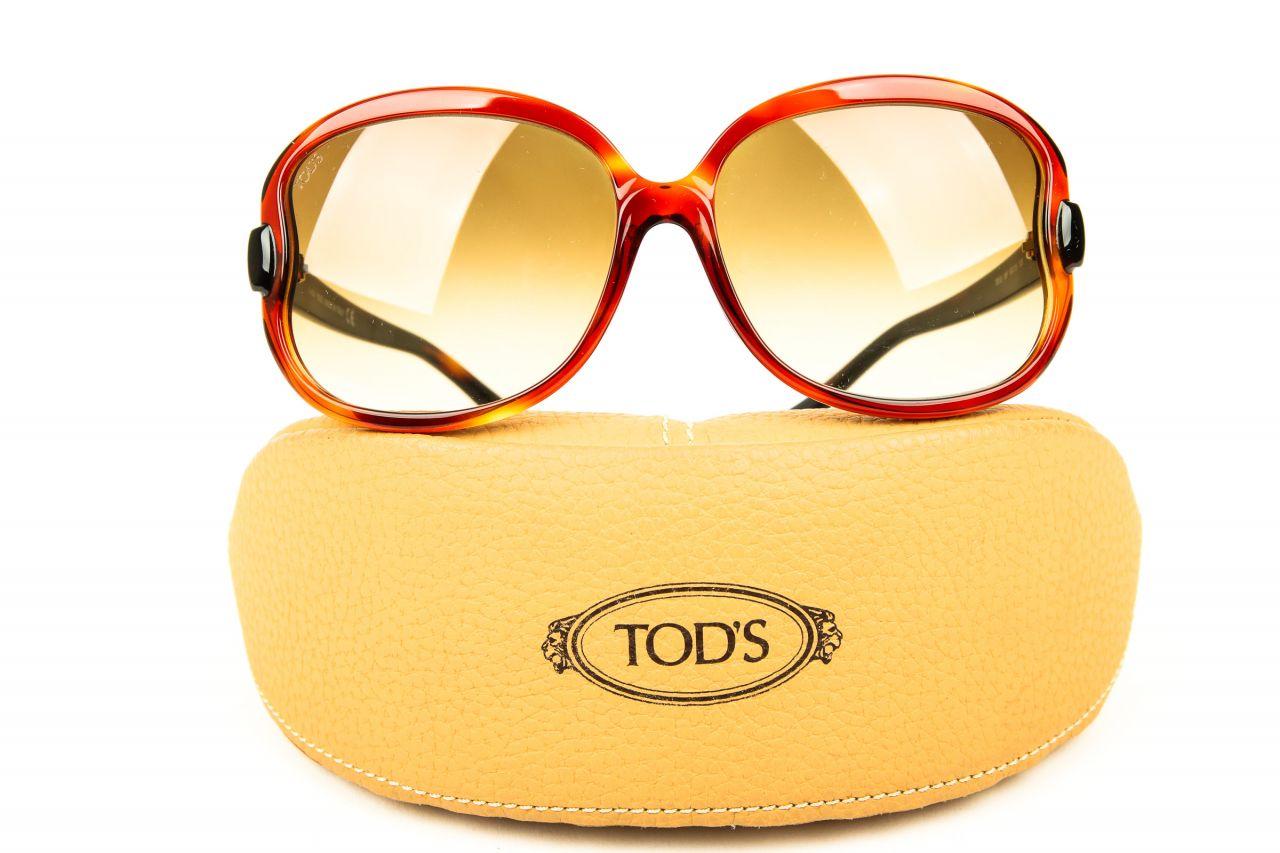 Tod's Sonnenbrille Light Havana Brown