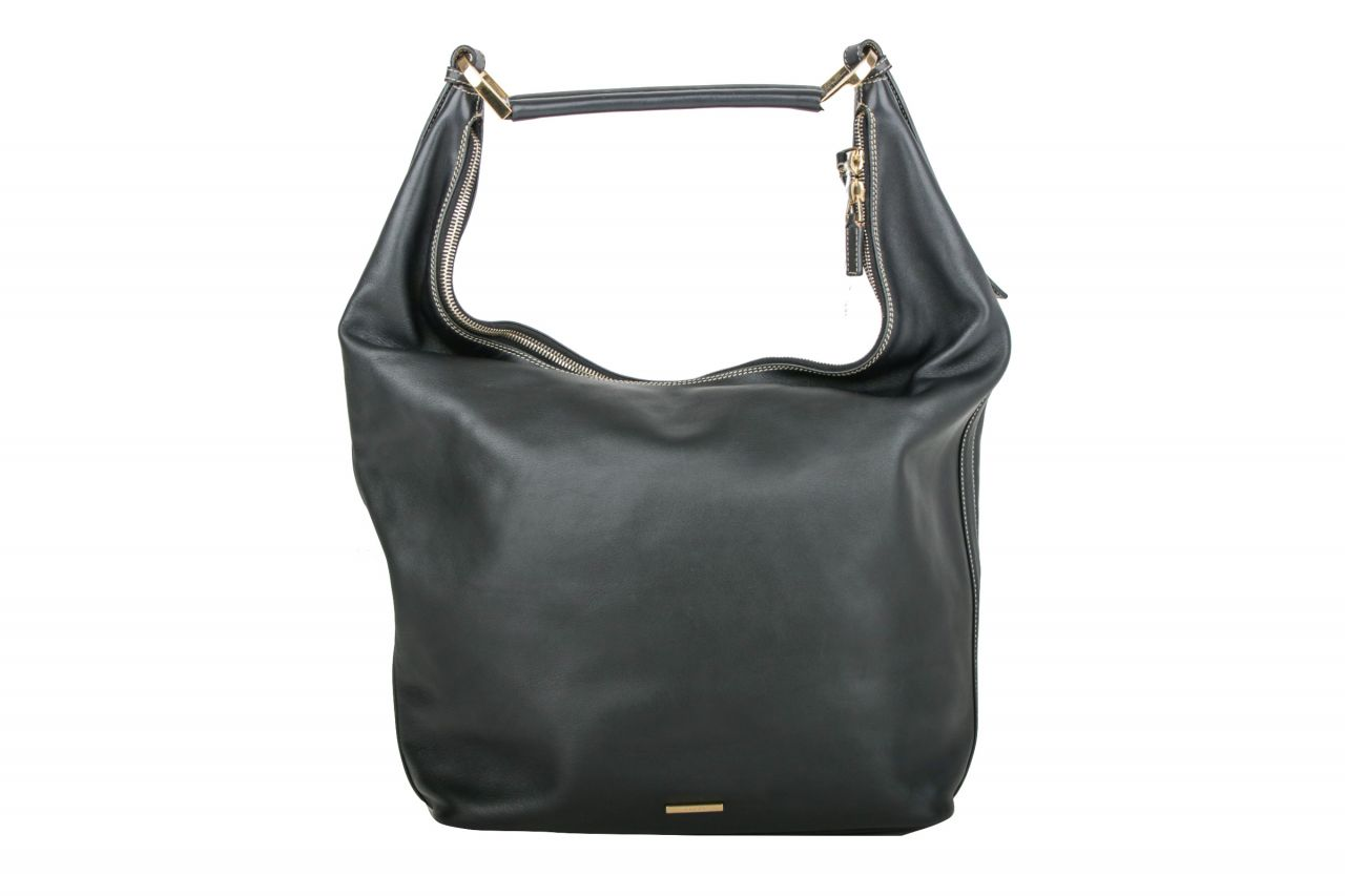 Gucci Shoulder Bag Leather Black