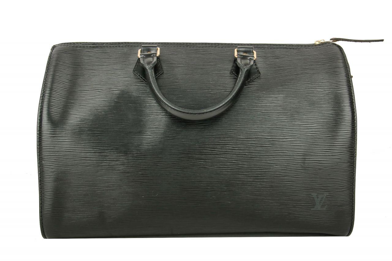 Louis Vuitton Speedy Epi Leder schwarz