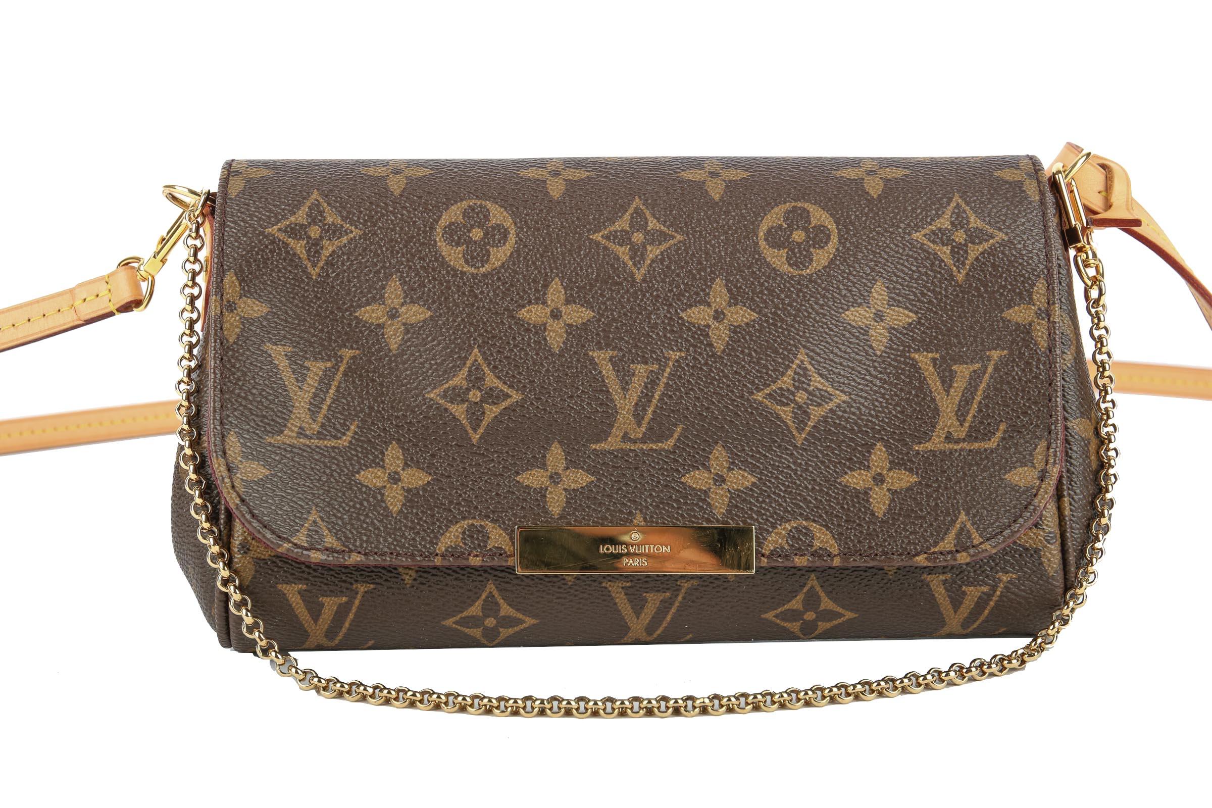 de4b7130cf37c Louis Vuitton Favorite PM Monogram Canvas