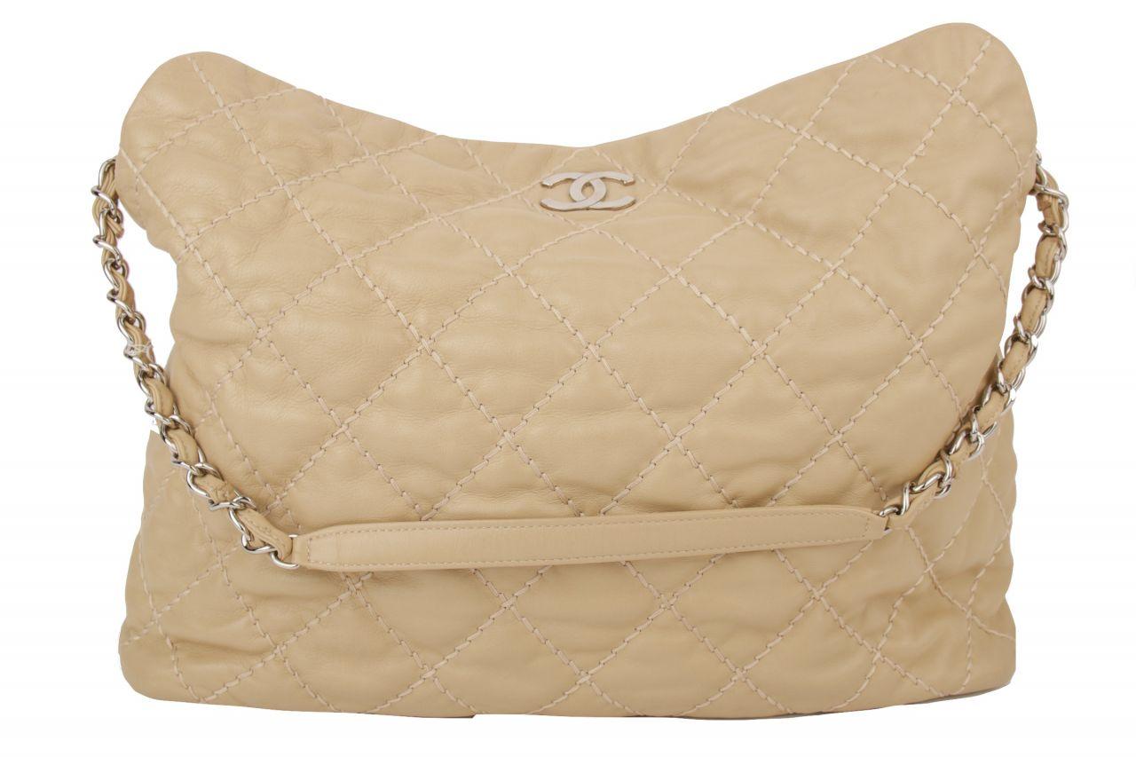 Chanel Shoulder Bag Nude