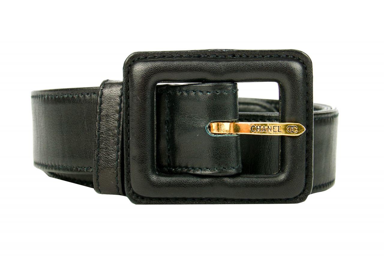 Chanel Vintage Gürtel Schwarz