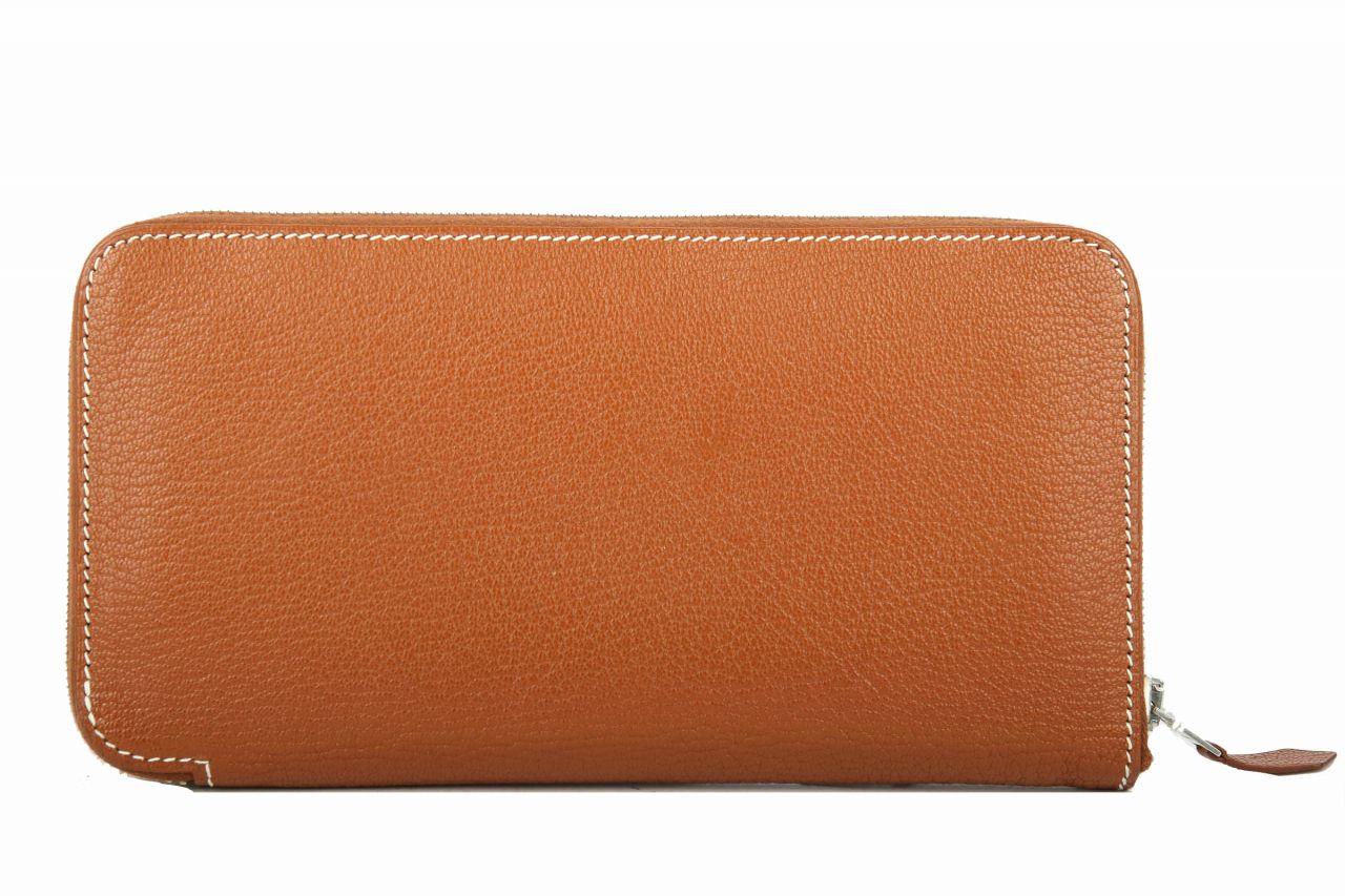 Hermès Brieftasche Azap Epsom Braun