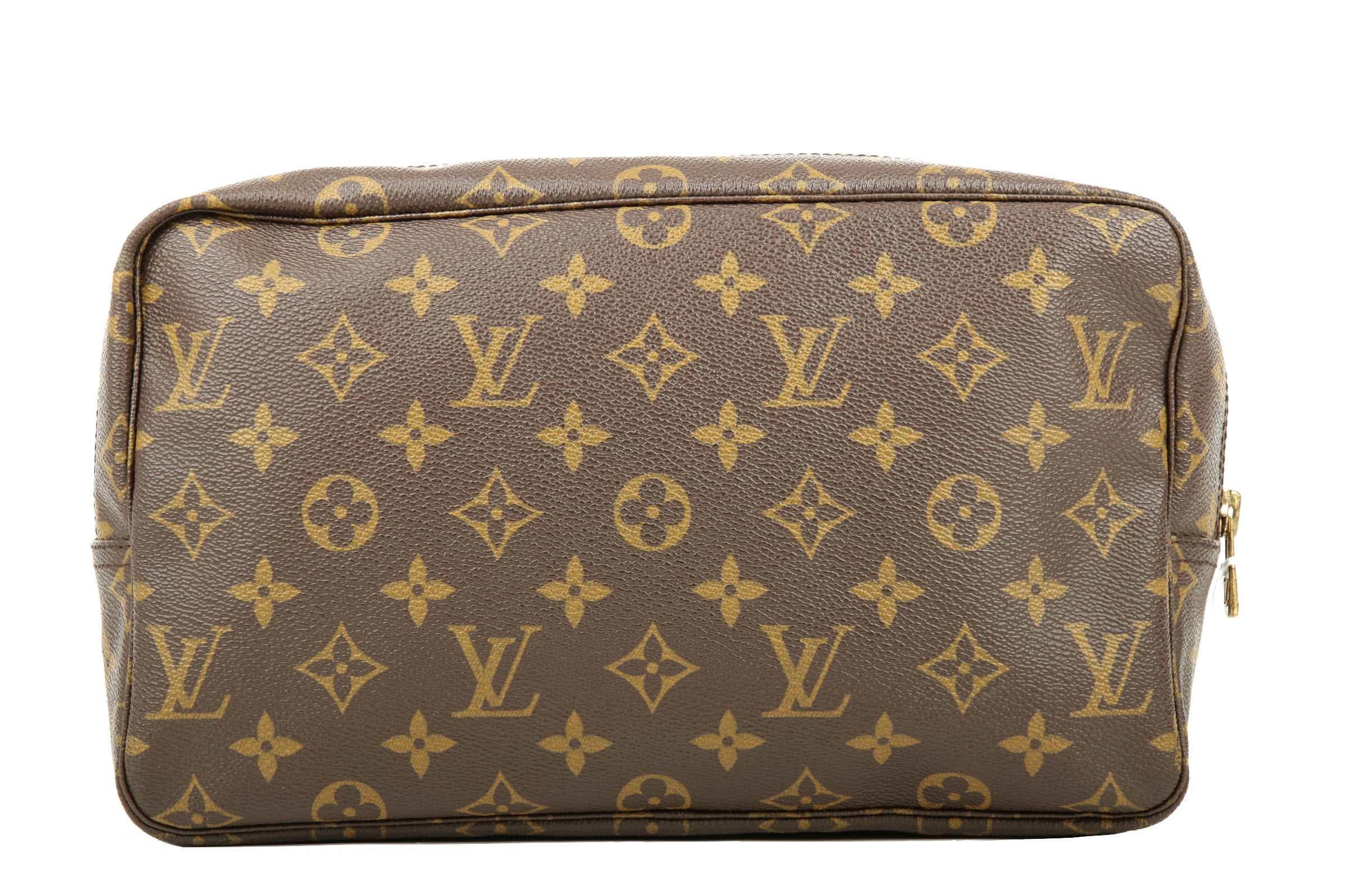 a998ab50b2581 Louis Vuitton Trousse Toilette 28 Monogram Canvas