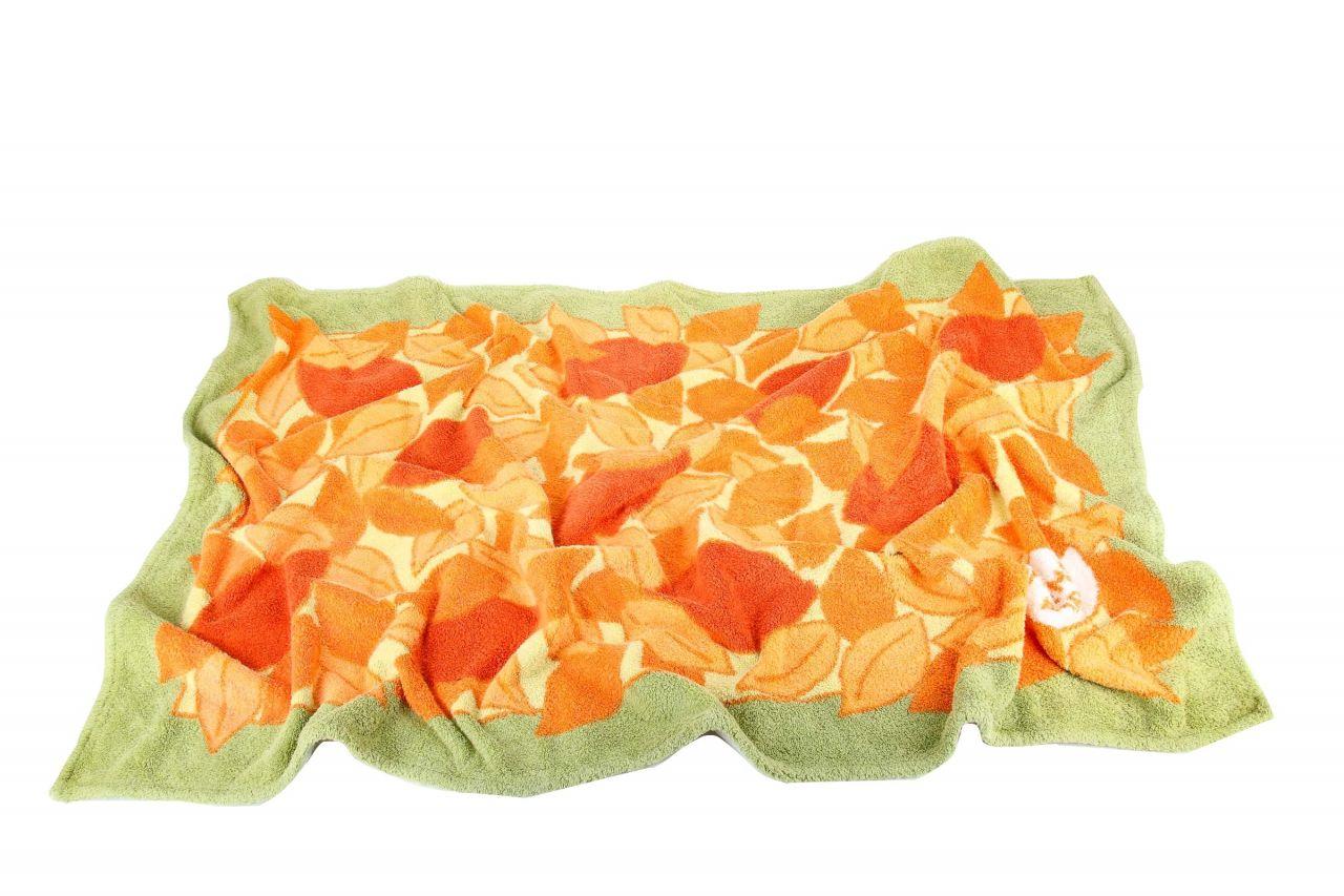 Hermès Strandtuch Grün/Orange