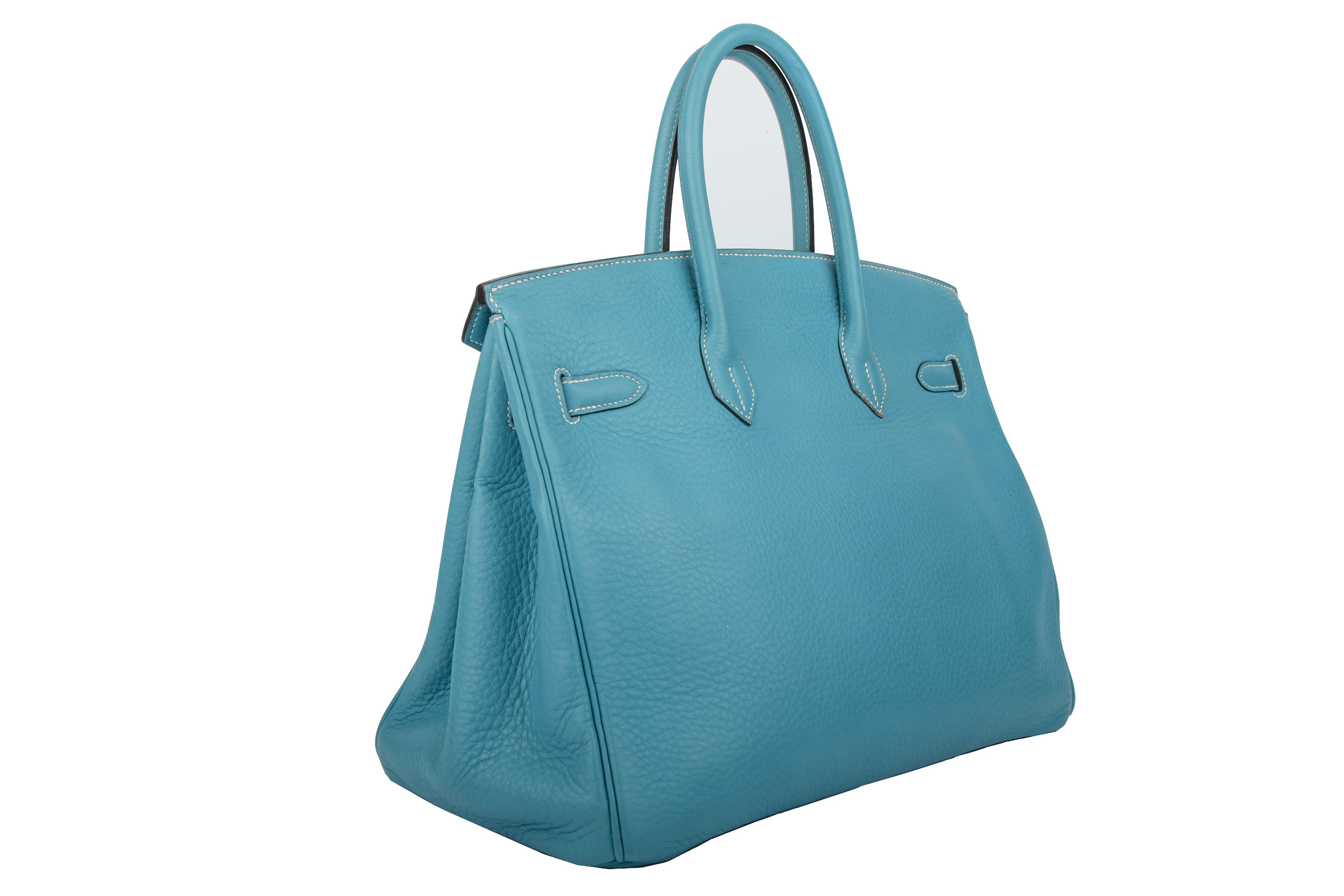 11cf4a988f Hermès Birkin Bag 35 Blue Jean Togo   Luxussachen.com