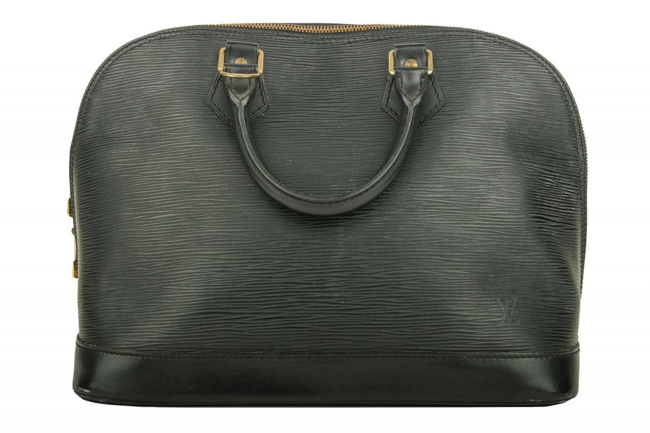 Louis Vuitton Alma PM Epi Leder Black