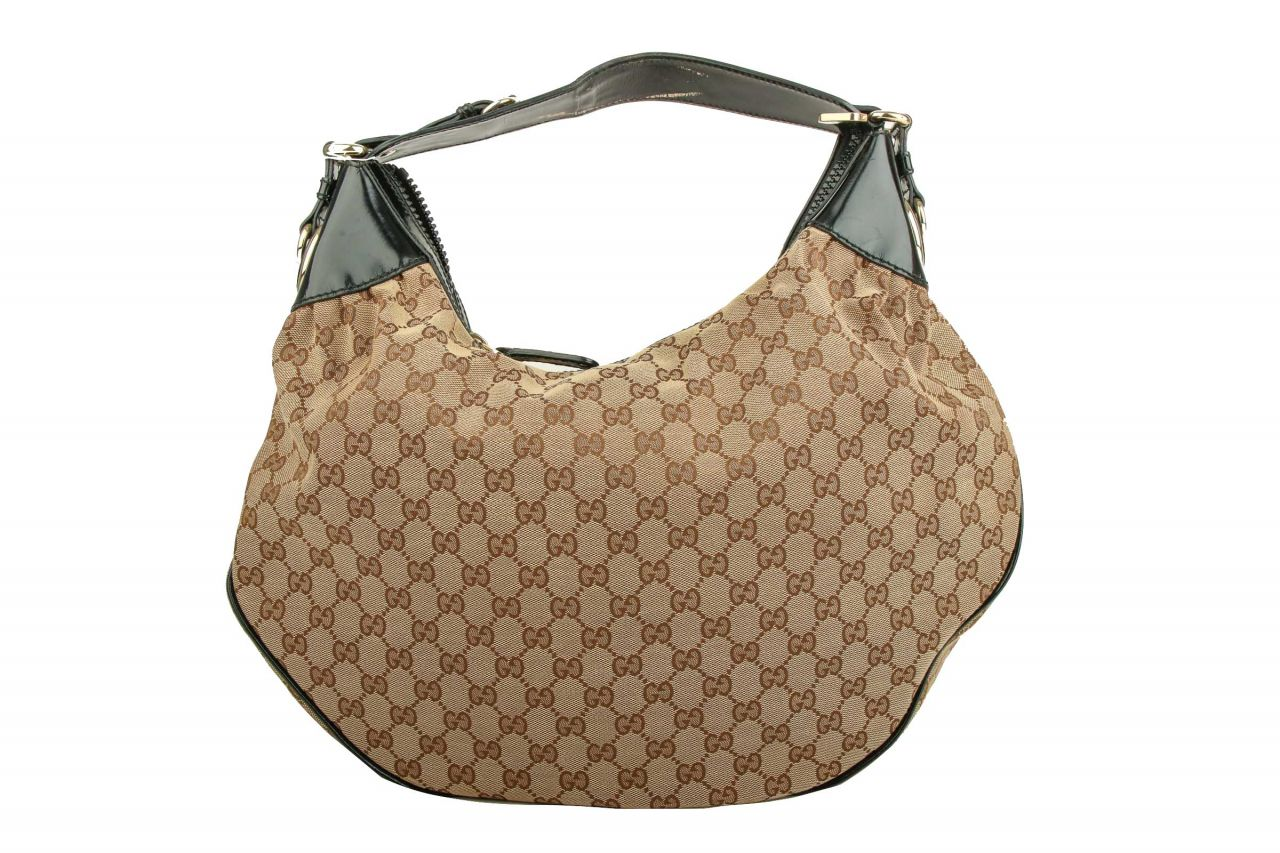 Gucci Hobo Bag Guccissima Canvas