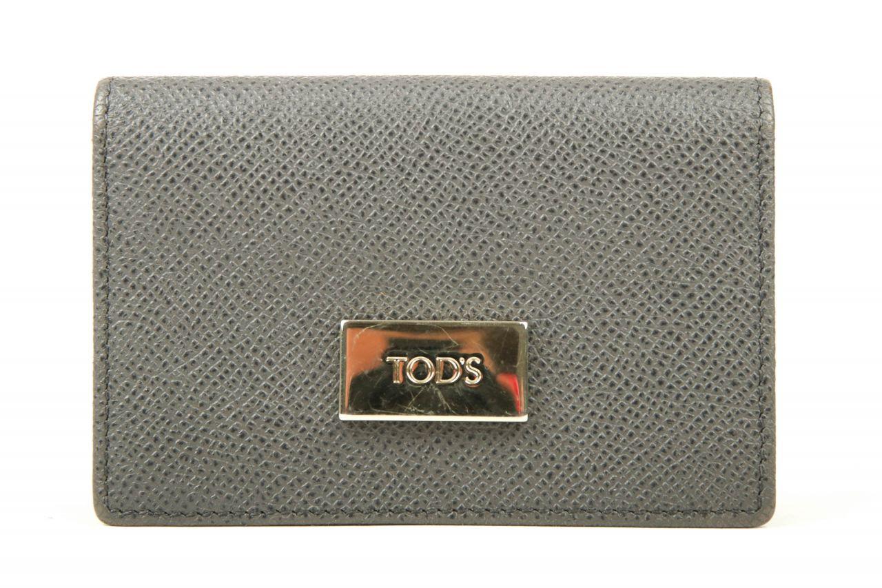Tod's Portemonnaie Grau-Flieder