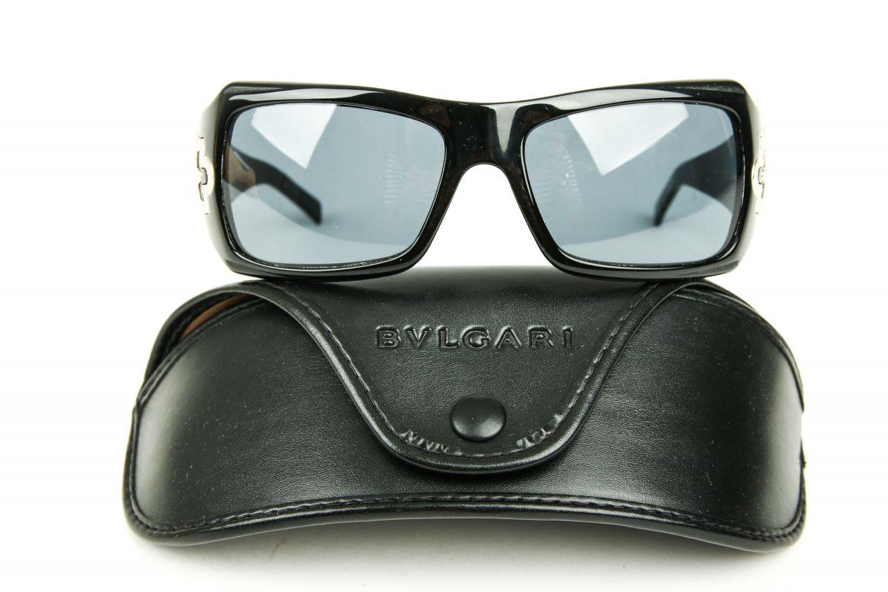 Bulgari Sonnenbrille Schwarz