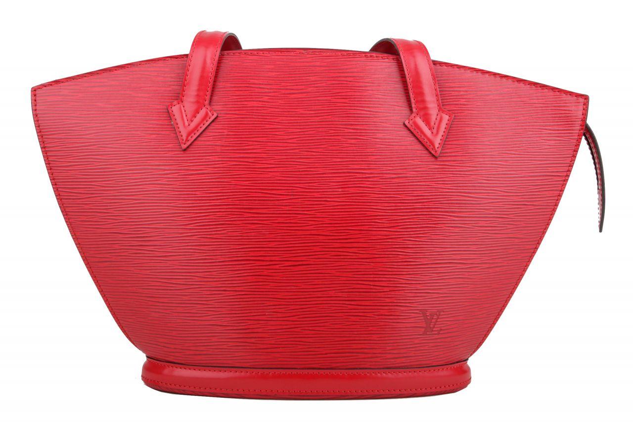 Louis Vuitton Saint Jacques PM Epi Leder Rot