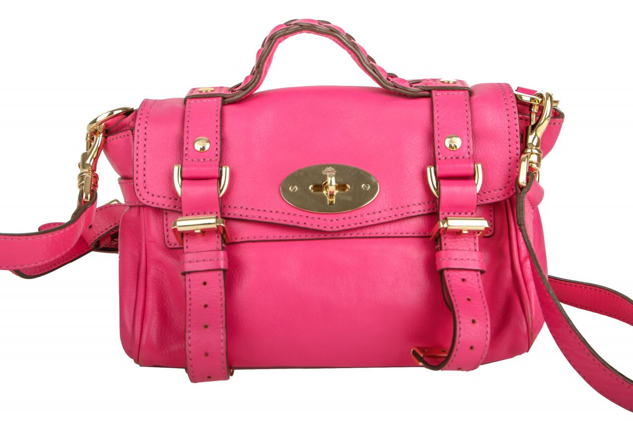 Mulberry Satchel Alexa Pink