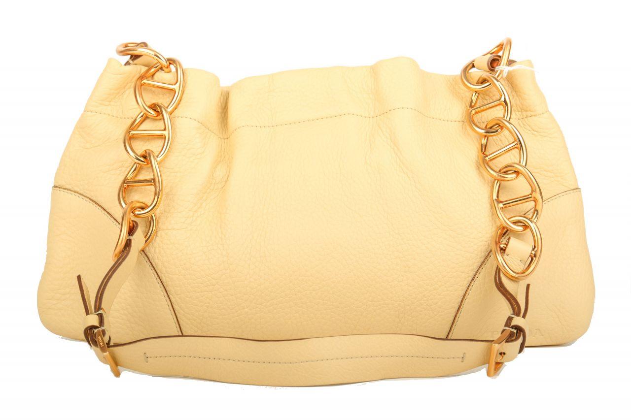 Prada Handtasche Beige