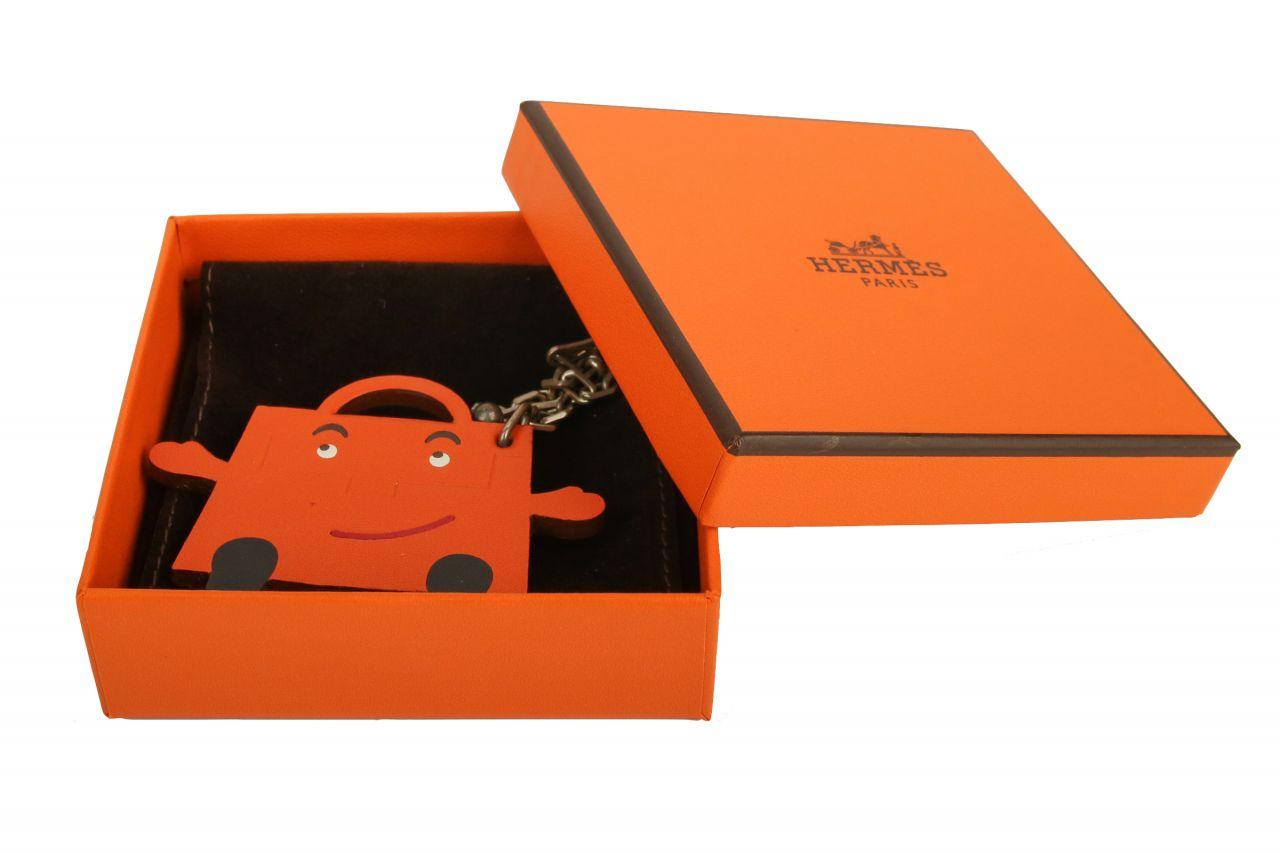 Hermès Kelly Doll Charm Orange Limited Edition
