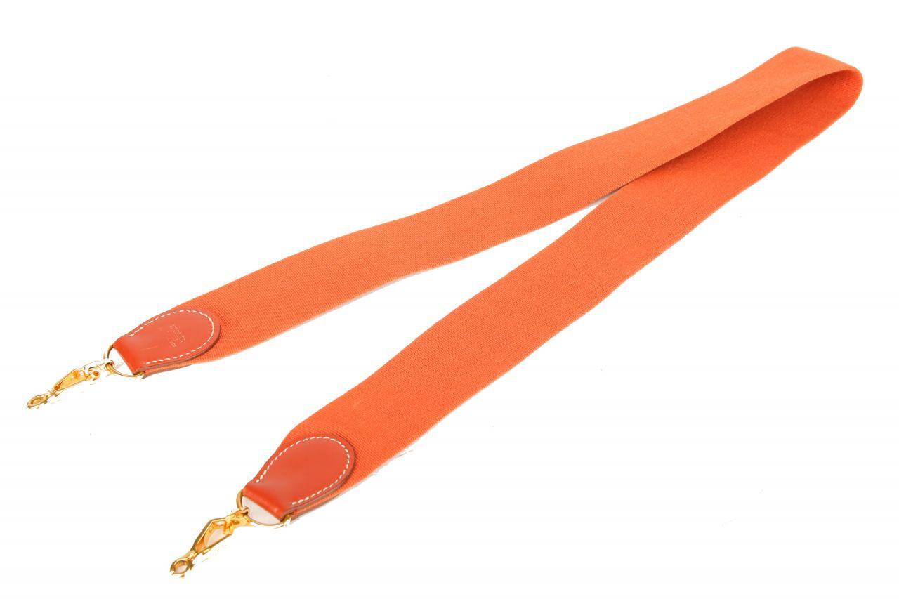 Hermès Schultergurt Orange