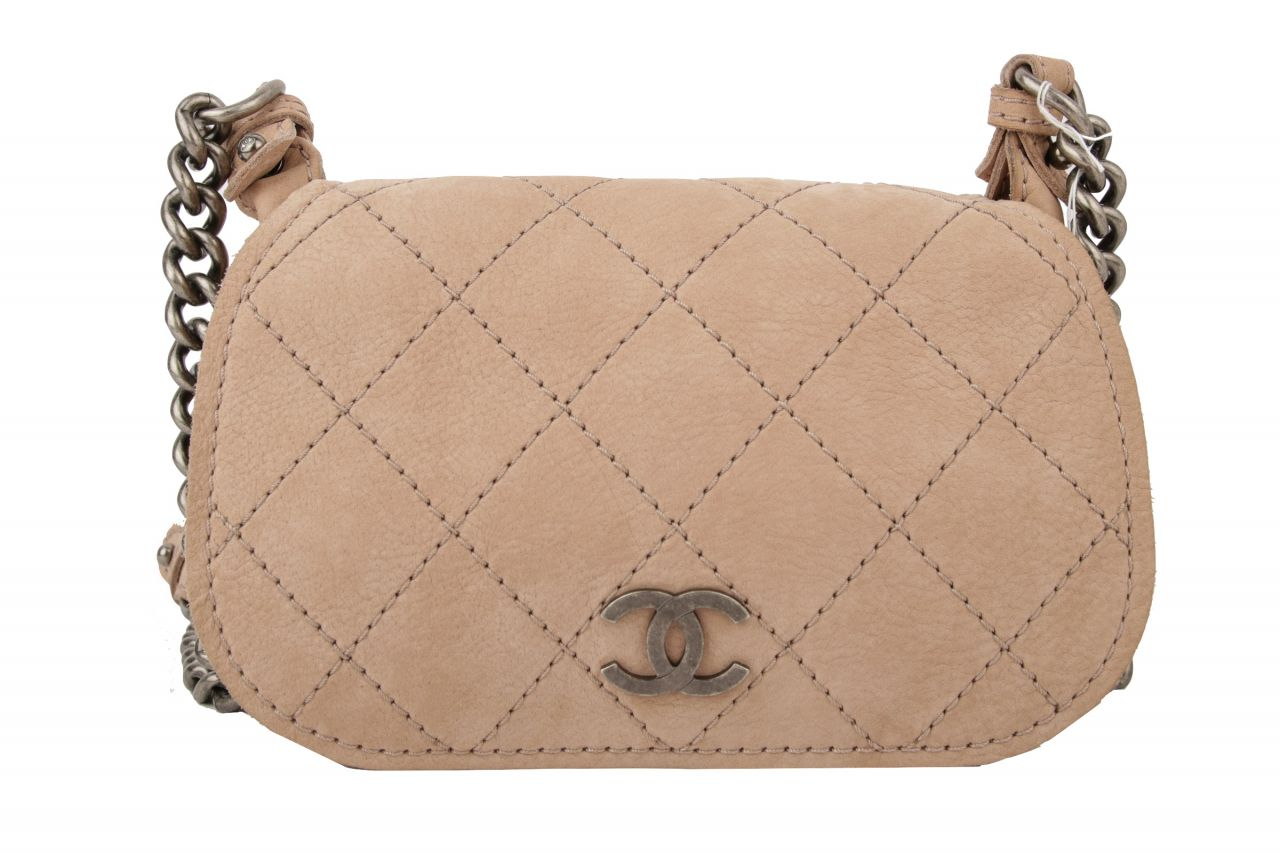 Chanel Crossbody Bag Beige