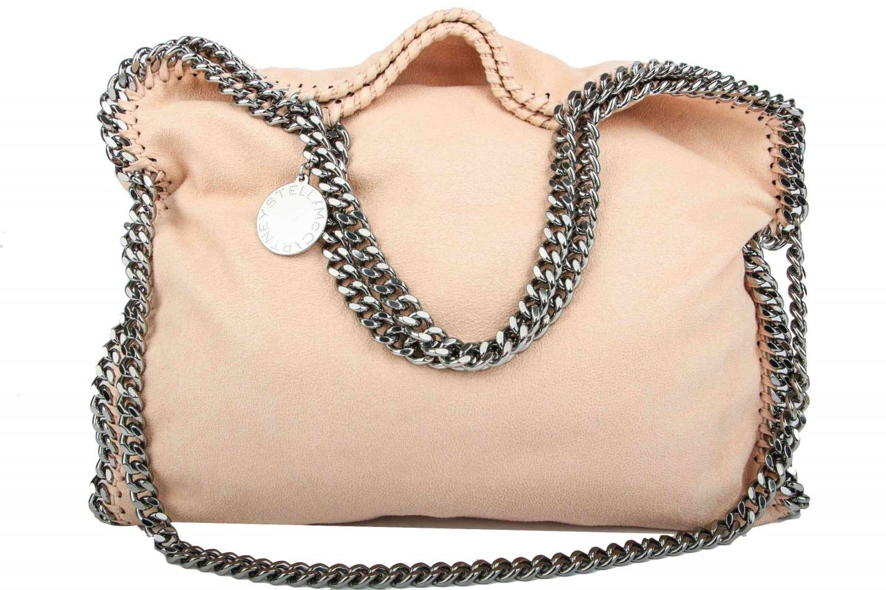 Stella McCartney Falabella Tote Bag Small Rose