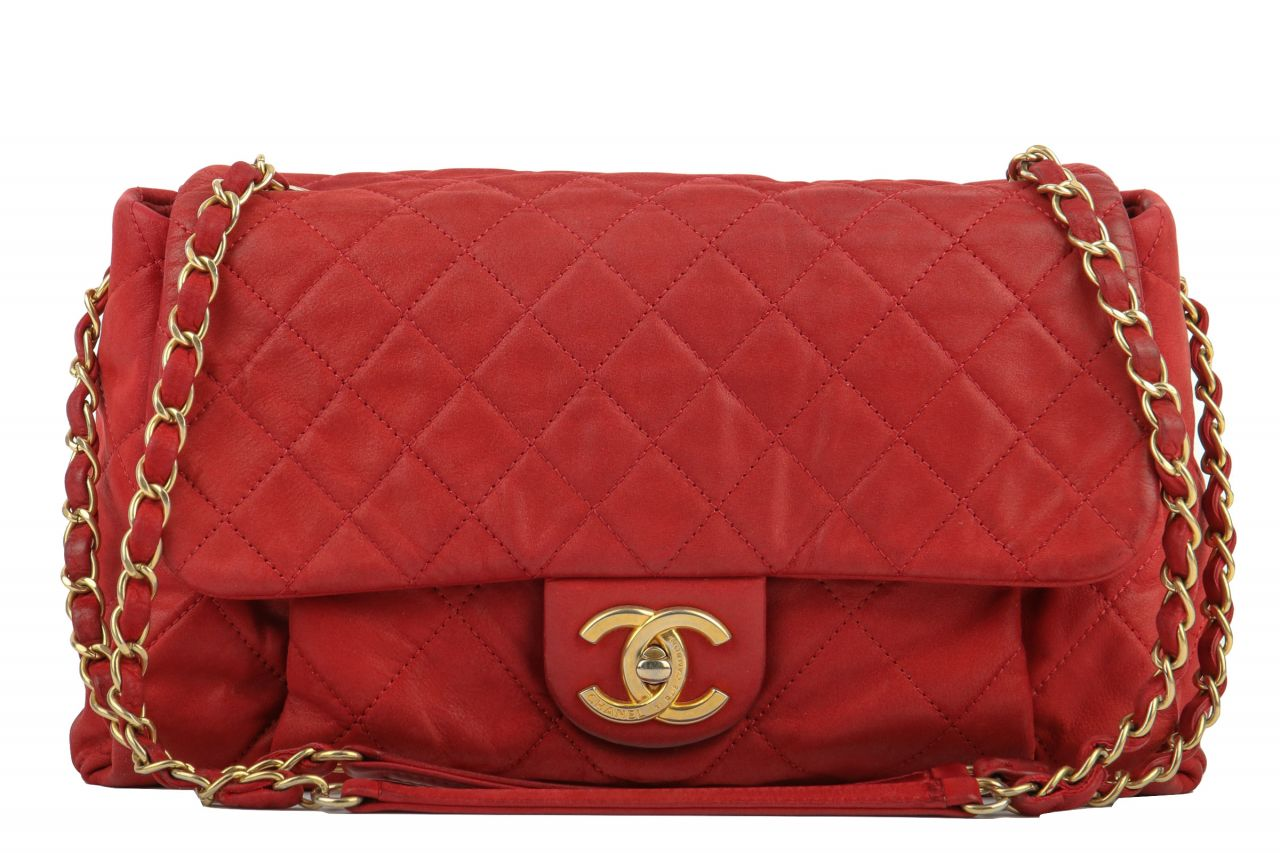 Chanel Timeless Flap Bag Bordeaux