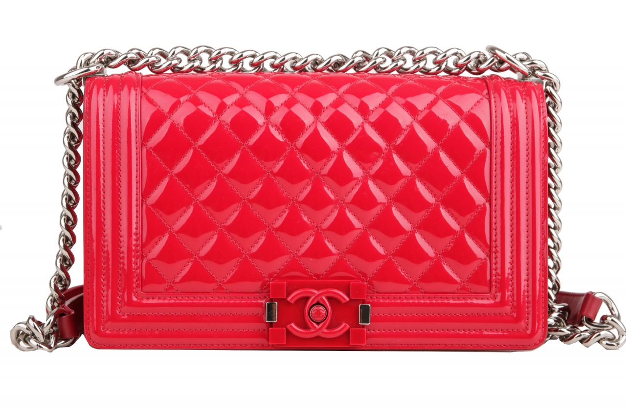 Chanel Boy Bag medium Red